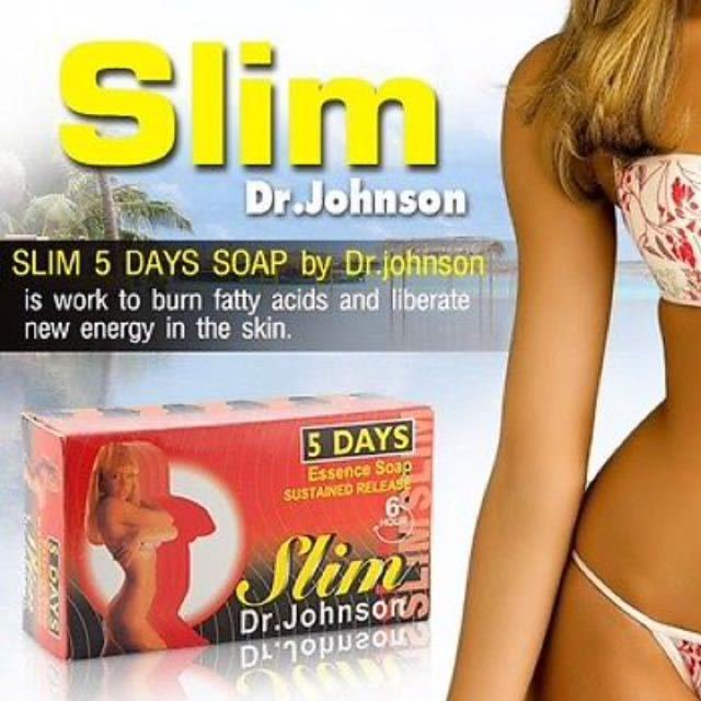 Slim 5 days by Dr.Johnson Massage Soap Anti Cellulite Natural
