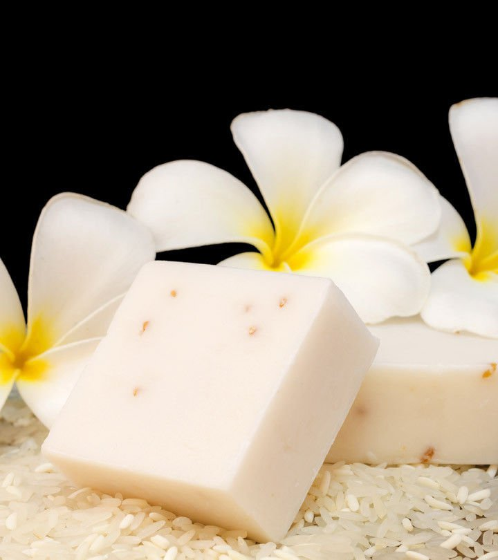 Jam Rice Milk Soap Whitening and Collagen Herbal Soap