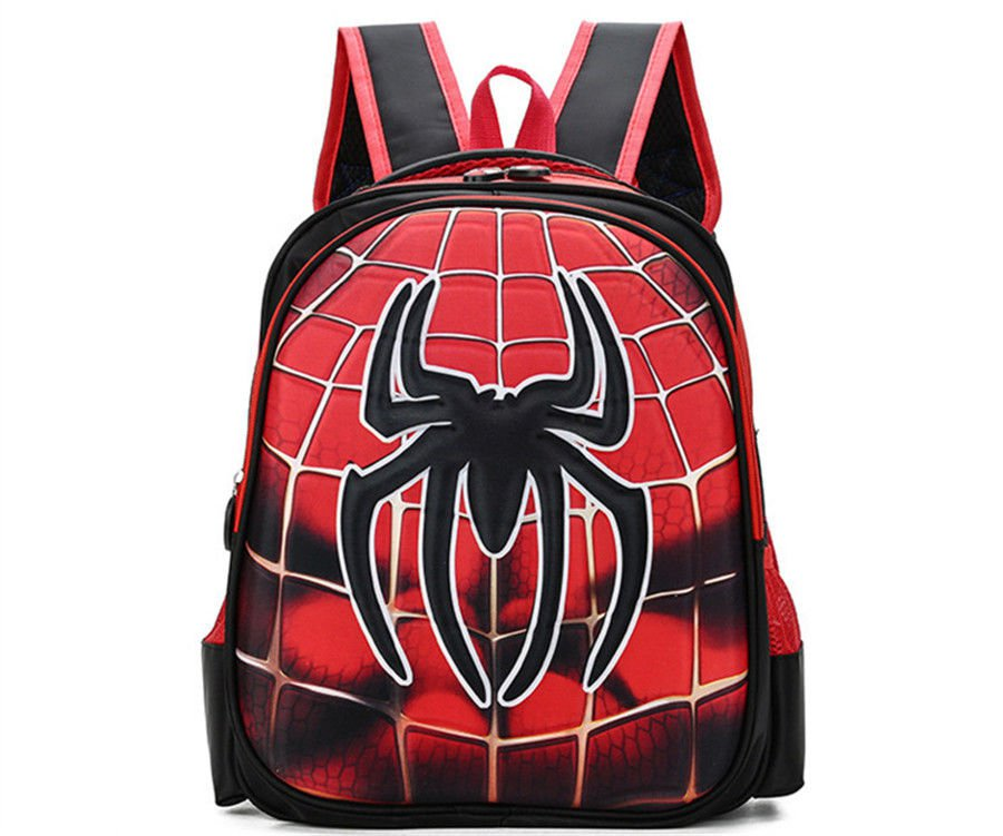 3D 3-6 Year Old School Bags For Boys Waterproof Backpacks Child Spiderman Bags