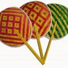 3 Piece Bamboo weave Decoration Handmade