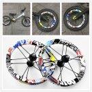 12 Inch Colorful Aluminum Wheelset for Kids Balance Bike for Kokua bixbi strider