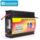 24V 10A Auto Smart Lead Acid Battery Charger for Car Motorcycles 220V AC Input