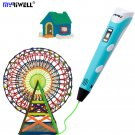 Myriwell Original RP100B 3D printing pen 175mm ABS Smart 3d drawing pens with