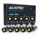 10X 6000K Canbus 2825 T10 168 194 W5W Dome License Side Marker LED Light Bulb EE