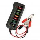 12V Digital Battery Load Tester 6 LED Lights Battery Analyzer Alternator Diagnos