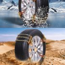 Universal Car Tires Chains Winter Road Safety Chains Snow Climbing Mud Non-Slip.