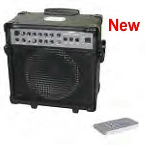 IPA-2009 Wireless guitar amp with REMOTE CONTROL