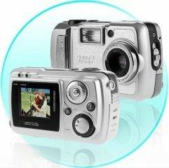 Digital Camera 3M Pixel  16MB Memory  SD/MMC Slot