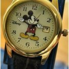 Lady's Gold Mickey Mouse Watch