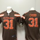 Cleveland Browns Nick Chubb Men's Limited Game Jersey Brown,Jersey Sales