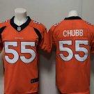 Men's Denver Broncos Bradley Chubb Limited Player Jersey Orange,Jersey Sales