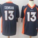 Trevor Siemian Denver Broncos Men's Limited Game Jersey Navy,Jersey Sales