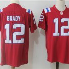 Tom Brady #12 Men's New England Patriots Red Limited Player Jersey,Football Jersey Sale