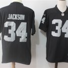 Bo Jackson Oakland Raiders Men's  Limited Player Jersey Black,Football Jersey Sales
