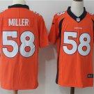 Von Miller Men's Denver Broncos Limited Player Jersey Orange,Jersey Sales