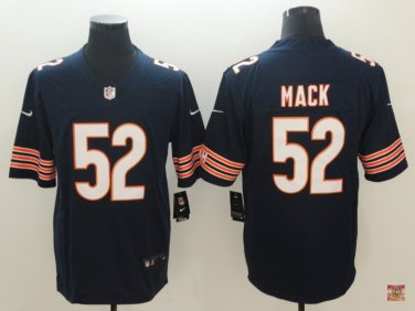 new style 02b74 bb307 Chicago Bears Khalil Mack Men's Limited Player Jersey Navy ...