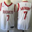 CARMELO ANTHONY 3 Houston Rockets Men's White Swingman Jersey Stitched