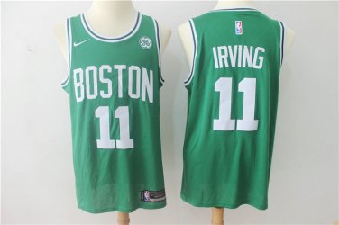 check out 49be6 36237 Men's Boston Celtics Kyrie Irving 11 Basketball Green Jersey ...