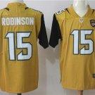 Allen Robinson #15 Men's Jaguars Gold Color Rush Limited Player Jersey