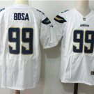 Men's Chargers Joey Bosa #99 White Elite Football Jersey Stitched