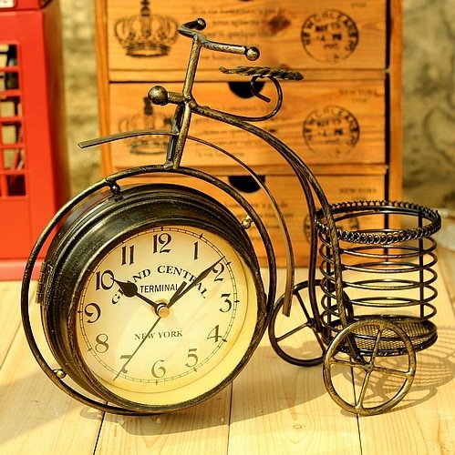 Bicycle modelling Multifunction Clock Creative Gifts