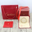 Ecrou De Cartier Bracelet Yellow Gold Size 16 & 19 With Luxury Box Set