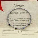 Ecrou De Cartier Bracelet white gold Size 16 &19 With Luxury Box Set 2019 Love Bracelet