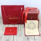 Ecrou De Cartier Bracelet White Gold Size 16 & 19 With Luxury Box Set