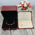 Ecrou De Cartier Bracelet Rose Gold Size 16 & 19 With Luxury Box Set