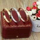 Cartier Love Bracelet 4 Diamonds Version With Original Box Set