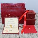 Cartier Love Ring Diamond Paved Version With Original Box Set