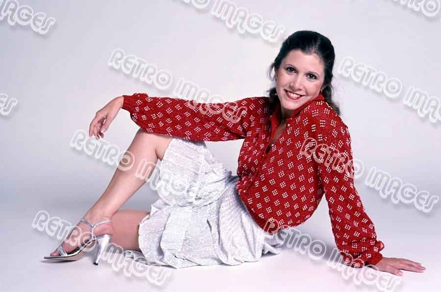 Carrie Fisher 8x12 PS1902