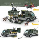 Armored Car Soldier with Tank ww2 war army military lego toys minifigure