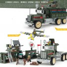 Strike Force with Car and Plane ww2 war army military lego toys minifigure