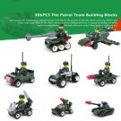 8pcs Patrol Team soldiers Vehicle ww2 war army military lego toys minifigure