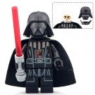 Darth Vader With Red Lightsaber Star Wars Lego Minifigure Toys