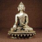 Tibetan Bronze Sakyamuni Buddha Statue 17th C
