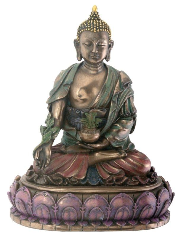 Buddhist Healing Medicine Buddha Statue Figurine