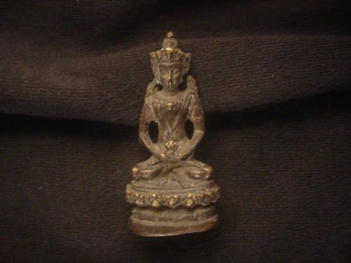 Remarkable Tibetab Bronze *Buddha* Little Statue