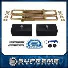 "01-10 Chevolet GMC Silverado Sierra 1500HD 1.5"" Rear Block U-Bolt Lift Kit PRO"