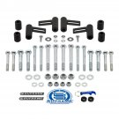 """UNIVERSAL 3"""" Bar Pin Shock Mount Extenders Reduces Over-Extension Shock Pistons"""