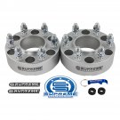 "New Silver 1.5"" Wheel Spacers For 15-21 Ford F-150 Expedition Lincoln Navigator"