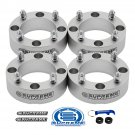 "New Silver 4 piece set of 2"" Wheel Spacers for Can-Am & Kawasaki Side by Sides"