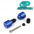 BP 1992-2018 Suzuki GSXR 600 Style Blue Barends Engraved Bar End Path