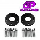 15 mm Hub Centric 76-84 Audi Coupe 4000S Wheel Spacers 4x100 Bolts Lug Nuts