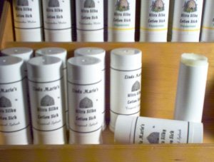 Handmade Lotion Stick  Cucumber Melon with Emu Oil Shea & Mango Butters by The Village Craftsmith