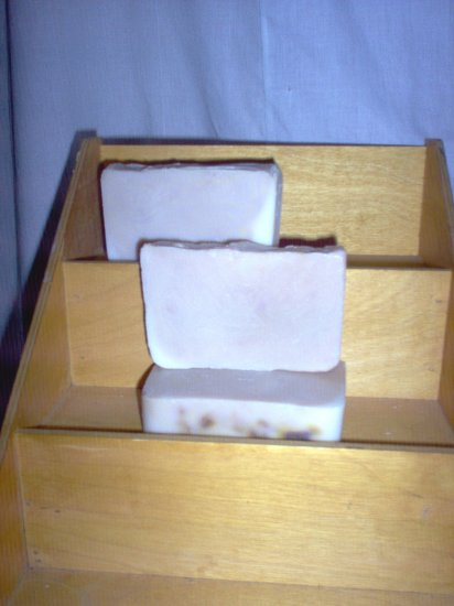 Handmade Cucumber Melon CP Pioneer Lye Soap Mega Bath Bar by The Village Craftsmith
