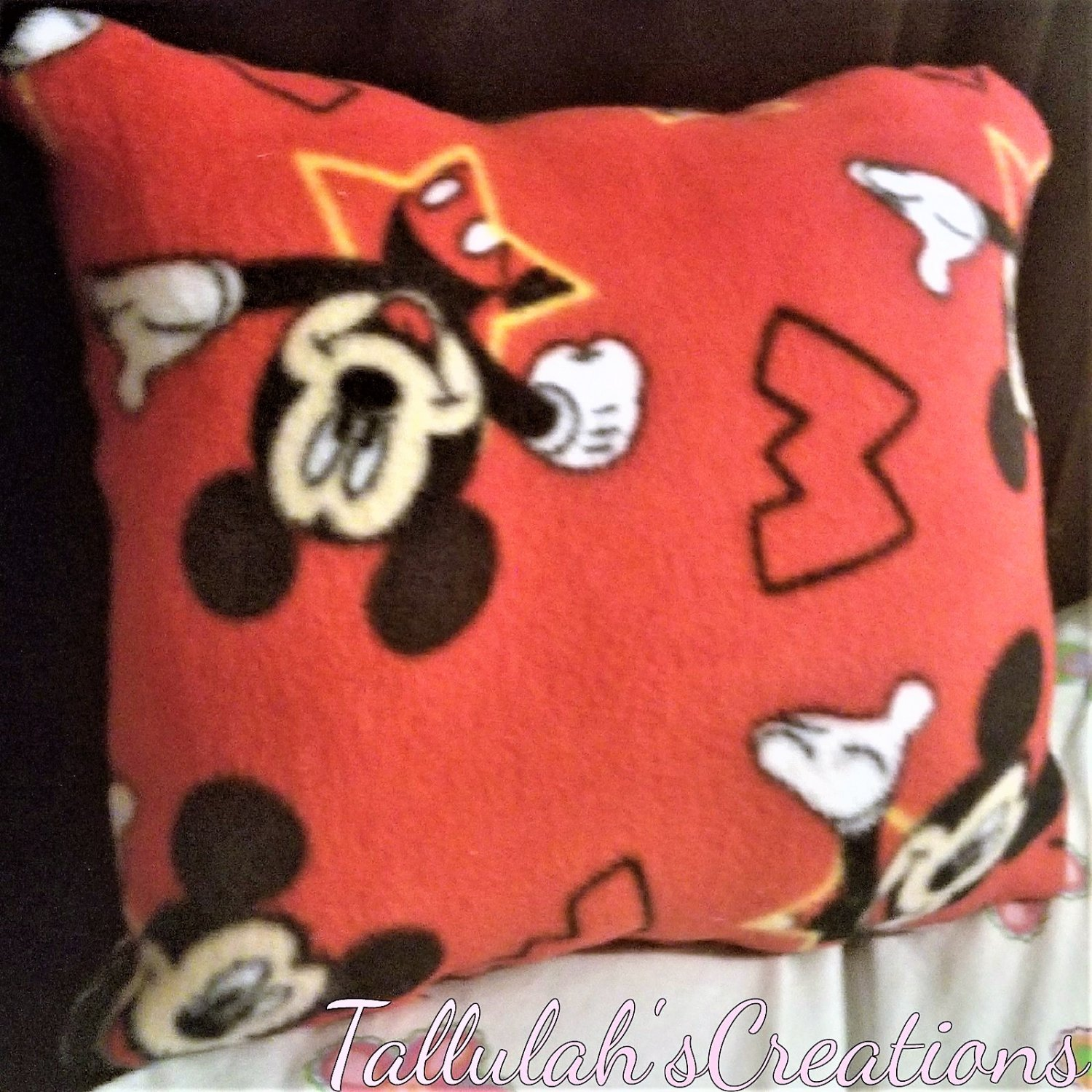 """""""Mickey Mouse"""" Miniature Pillow"""