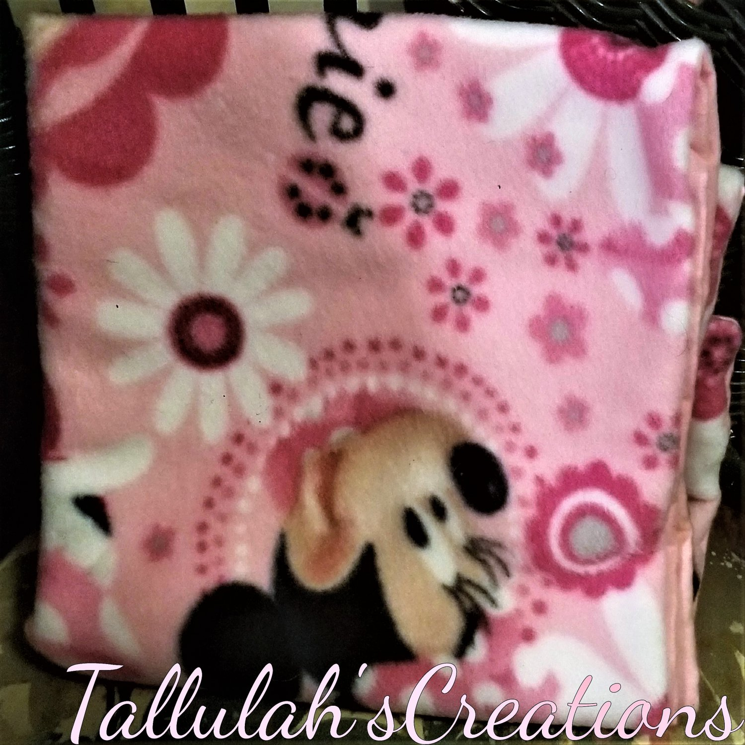 """""""Minnie Mouse"""" Baby Blanket"""