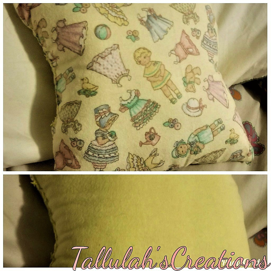 """Dolly"" Miniature Pillow"